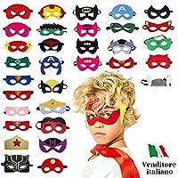 I SUPEREROI STANNO ARRIVANDO!🤩Realizza il sogno del tuo bambino con il nostro set di 32 maschere dei più famosi Supereroi!Tantissime occasioni🎁Per il buon compleanno del tuo bambino o della tua bambina🎉Un party a scuola o una festa in mascher...