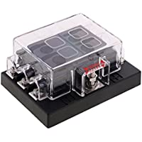 MagiDeal 8-Fach Sicherungskasten ATO ATC Fuse Box 32V 25A für Auto KFZ ( ohne Sicherungen )