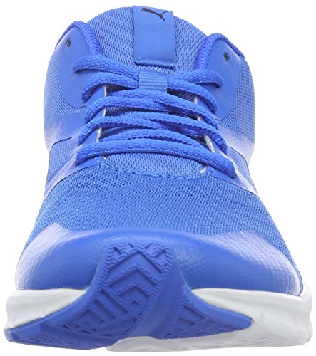 Puma Unisex-Erwachsene Flexracer Sneakers Blau (Electric Blue lemonade-puma White 14)