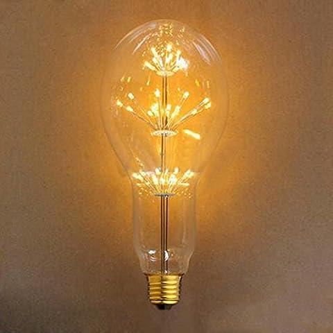 LED Glühbirne, xinrong E27220V 3W Star Feuerwerk Edison Filament Glühlampe, warm weiß Glow Urlaub Weihnachten Geschenk Home Dekoration im Innenbereich