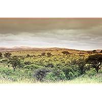 Reprint of SOUTH AFRICA EASTERN CAPE KWAZULU NATAL IXOPE HILLS LANDSCAPE