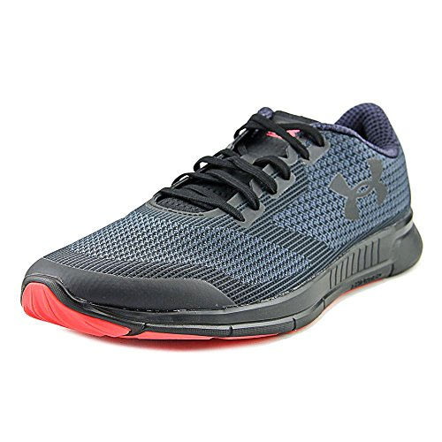 26. Under Armour Men's Stealth Grey/Black/Black Running Shoes