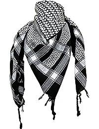 PLO Toalla/Emo/los Palestinos Shemagh bufanda en color blanco/turquesa lfFZ9CEyy