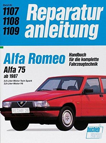 Alfa Romeo. Alfa 75 ab 1987. 2,0-Liter-Motor Twin