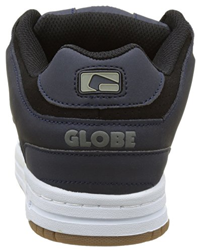 Globe Scribe, Scarpe da Skateboard Uomo Grigio (Navy/black)