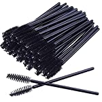 50 Disposable Mascara Eyelash Wands Brush for Eyelash Extension Eyebrow and Makeup