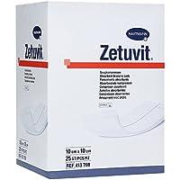 ZETUVIT Saugkompressen steril 10x10 cm CPC 25 St Kompressen preisvergleich bei billige-tabletten.eu