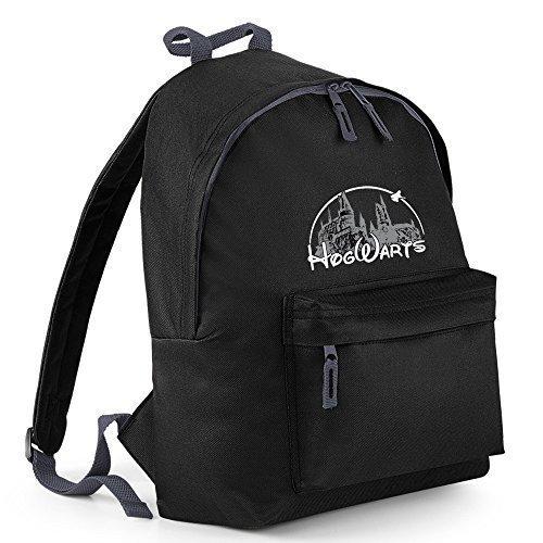 Inspired-Zaino per la scuola, con ricamo, motivo: mago, backpack BAGS Verde - Kelly green Taglia unica