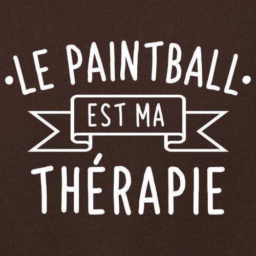 Le paintball est ma thérapie - Femme T-Shirt - 14 couleur Marron Foncé