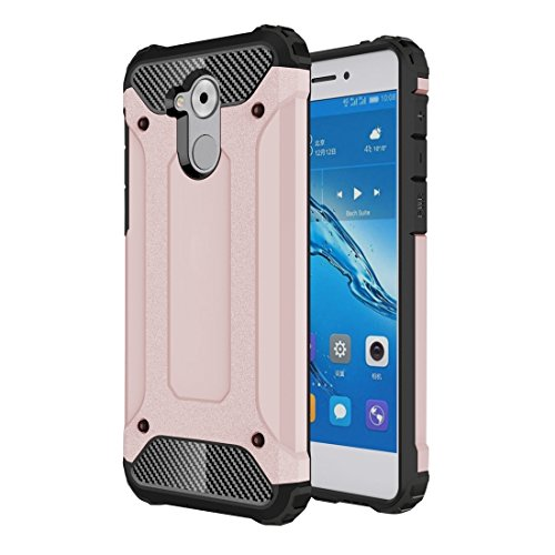 GHC Cases & Covers, für Huawei Enjoy 6s Rüstung TPU + PC Kombination Fall ( Color : Rose gold ) (Iphone 5c Fällen Wie Speck)