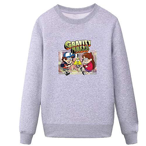 Kidac Jersey De Cuello Redondo para Hombres Y Mujeres. Gravity Falls Mystery...
