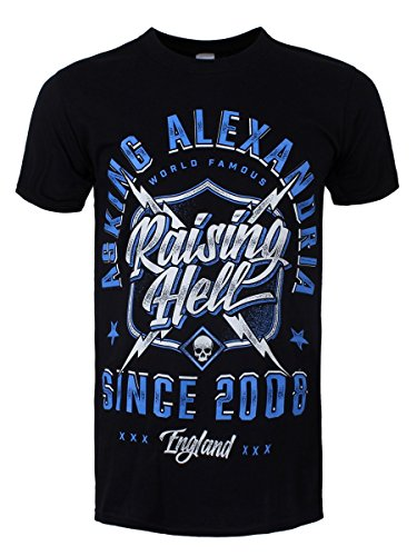 Asking Alexandria Raising Hell T-Shirt nero XL