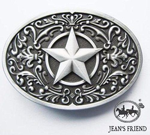 Cowboy Kostüm Lone - napolo Western Buckle Belt Cowboy gurtelschnallen New Lone Star Silver