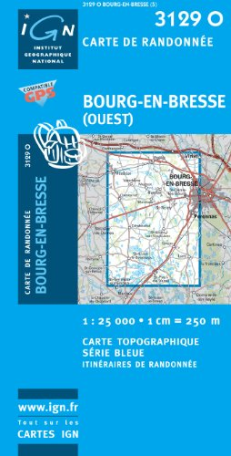 Bourg-en-Bresse (Ouest) GPS: Ign3129o