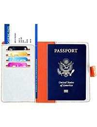 RFID Cassa del Portafoglio del Titolare del Passaporto - Copertura del  Passaporto di Viaggio per le 21c2199fb59