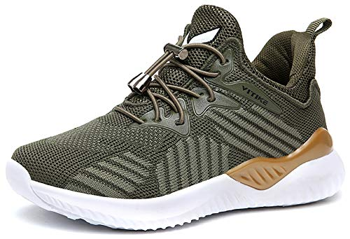 VITIKE Kinder Sneakers Jungen Mädchen Sneaker Outdoor Schuhe Jungen Turnschuhe Laufschuhe Schnürer Freizeit Schnürer Sportschuhe Sneaker (Mädchen Turnschuhe Schuhe)