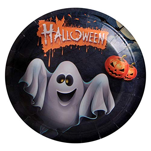 Halloween Einweg Teller Party Stehtisch Dekoration Zauberer Westlichen Kürbis Teller