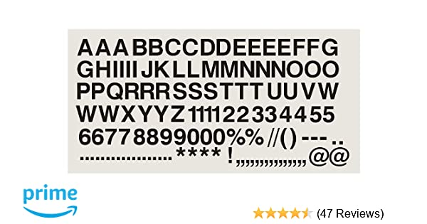 """Self Adhesive Numbers // Letters For Display Menu/'s 2/"""" 50mm Lots of colours !"""