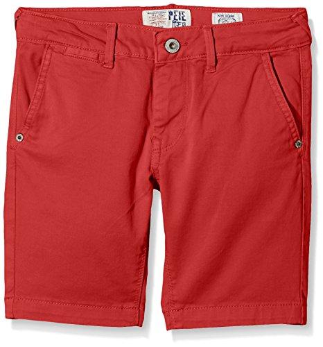 Pepe Jeans Braison-Pantaloncini da bagno Bambino, Rosso (Corallo ), 8 anni