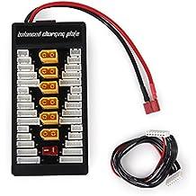 Tabla De Equilibrio Carga Paralelo Para Lipo LiFe Batería Cargador XT60 Conector