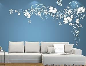 Wall tattoo adesivi murali adesivo muro tatuaggio for Brico adesivi pareti