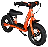 bike*star 25.4cm (10 Inch) Kids Child Learner Balance Running Bike - Classic - Colour Orange
