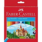 Faber-Castell 111224 - Farbstifte CASTLE Hexagonal