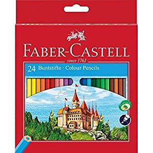 Faber-Castell Classic Colour Pencils (Pack of 24)