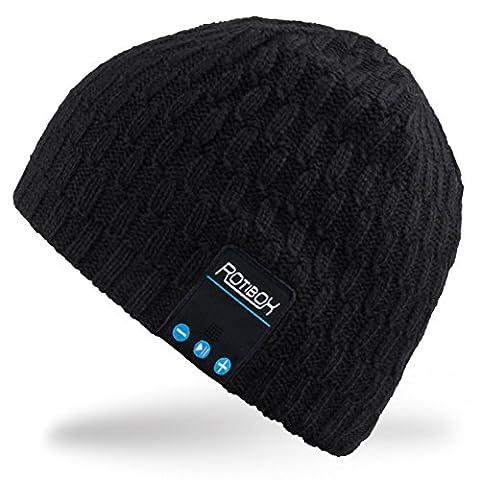 Bluetooth Beanie Mütze, Rotibox Winter Outdoor Sport