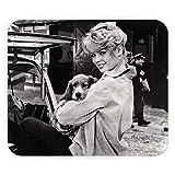 Tapis de Souris Brigitte Bardot Chiot Actrice Francaise Vintage