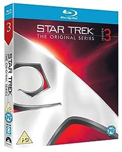 Star Trek: The Original Series - Season 3 [Blu-ray] [1966] [Region Free]
