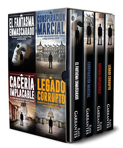 Las aventuras de Nathan Jericho detective privado: Novelas en español de conspiraciones, crímenes e intriga por Raúl Garbantes
