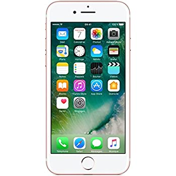 "Apple iPhone 7 Smartphone  4G (Display: 4,7"" - 32 GB - iOS 10) Oro rosa [Francia]"