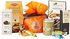 Idea Regalo - Food in Sicily Hyblea, Confezione regalo natalizia con prodotti tipici siciliani