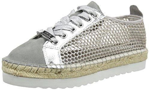 Steve Madden - Genieee Sneaker, Sneaker basse Donna Silver (Silver)