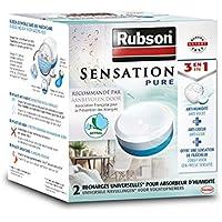RUBSON - Recharges pour absorbeur d'humidité Sensation - Parfum Neutre - 2 recharges