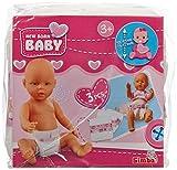 Simba 105566473 - New Born Baby 3 Windeln, 38-43 cm