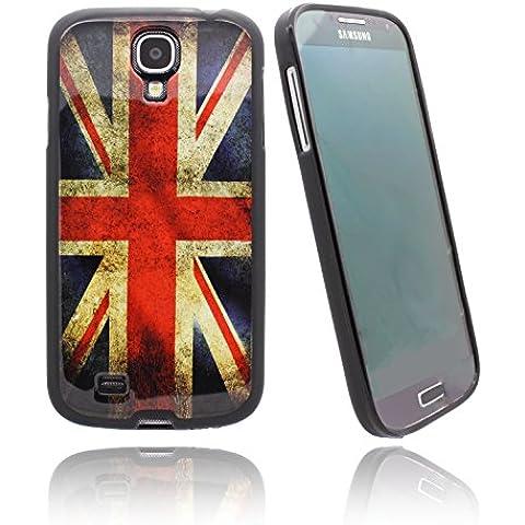 NWNK13® Ultra Slim Samsung Galaxy S5Mini/G800BANDIERA del Regno Unito Vintage in gomma morbida Gel Custodia Con Bumper finitura opaca con protezione schermo e panno