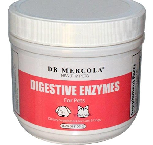 Artikelbild: Dr. Mercola, Digestive Enzymes, for Pets, 5.26 oz (150 g)