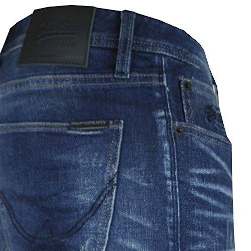 Superdry Corporal Slim Jeans Ensign Blue Ensign Blue