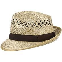 d420a9e8caaed Lipodo Sombrero de Paja Classic Trilby Mujer Hombre