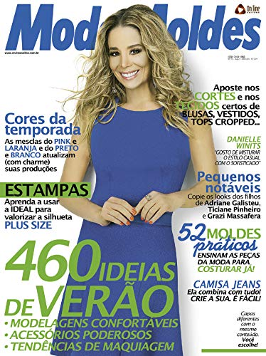 Moda Moldes 55 (Portuguese Edition) de [Editora, On Line]