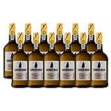 Portwein Sandeman White - Dessertwein - 12 Flaschen