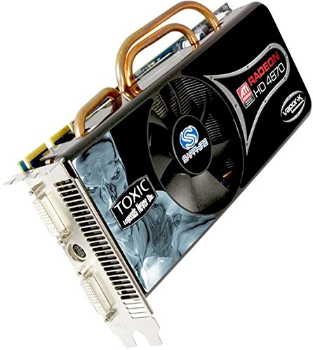 Sapphire ATI Radeon HD 4870 Toxic Grafikkarte (PCI-e, 1GB GDDR5 Speicher, DVI, HDMI, HDTV-Out, 1 GPU) (Dvi-hdtv-pci Express)