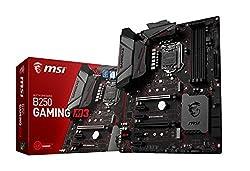 MSI Gaming Intel B250 LGA 1151 DDR4 HDMI VR Ready ATX Motherboard (B250 Gaming M3)
