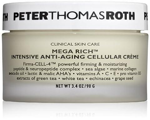 Peter Thomas Roth Mega Rich Intensive Anti Aginge Cellular Creme, 3.4 Fluid Ounce (Cellular Tagescreme)
