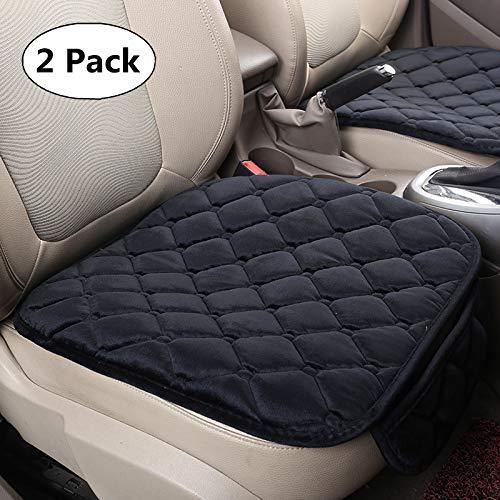 HCMAX Weich Autositzüberzug Kissen Pad Matte Schutz für Autozubehör für Limousine Fließheck SUV - 2 Packung Vordersitzbezug (Suv Sitzbezüge)
