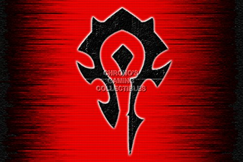 World of Warcraft – Symbol der Horde Poster