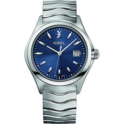 Ebel Wave–Reloj de pulsera analógico de cuarzo Acero inoxidable 1216238