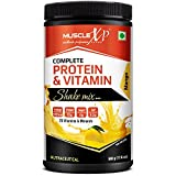 #10: MuscleXP Complete Protein & Vitamin Shake Mix With 25 Multivitamins - 500g, Mango (With Whey Protein)